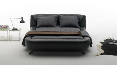 Sof cama de couro modelos ds 1164 ds 1165 da de sede for Sofa cama moderno grande