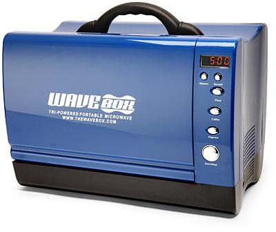 Mundo High-Tech: Wavebox: forno de microondas portátil – Mundo