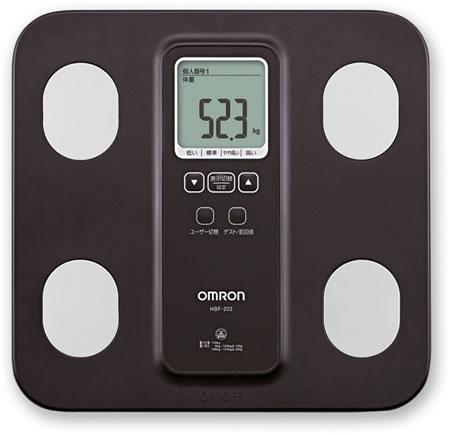 Omron Body Fat Monitor Scale 28