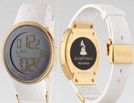de0899aef60 Grammy   Gucci Special Edition  Relógio de Pulso