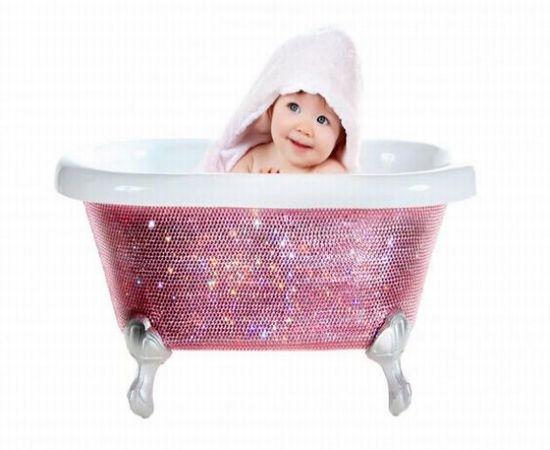 lori gardner baby bath tub geek chic. Black Bedroom Furniture Sets. Home Design Ideas