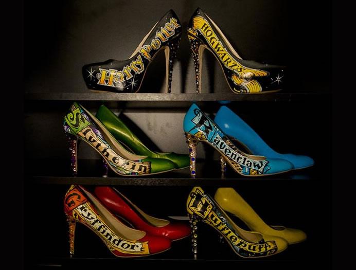 Sapato de salto stiletto do Harry Potter