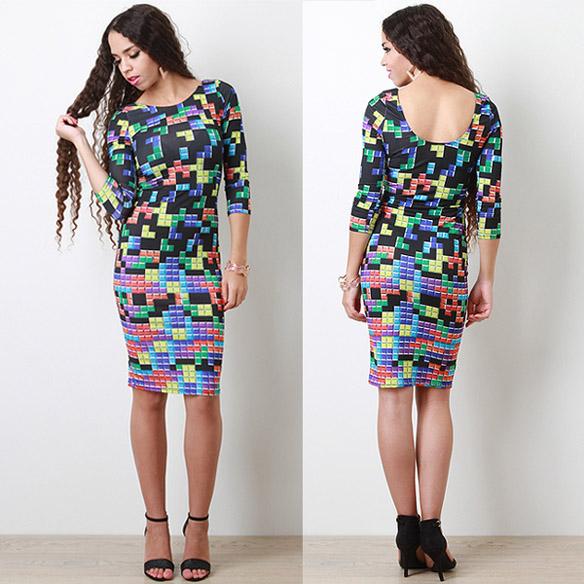 vestido tetris