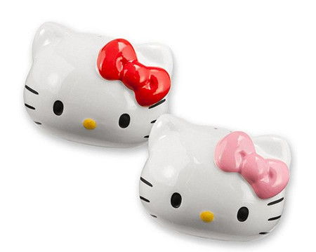 Saleiro e Pimenteiro Hello Kitty