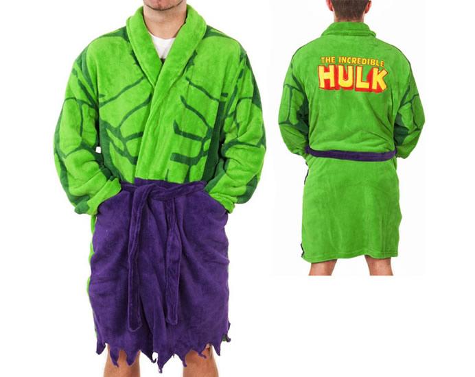 Roupão Incrível Hulk