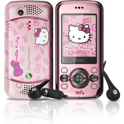 Sony Ericsson W395 Hello Kitty