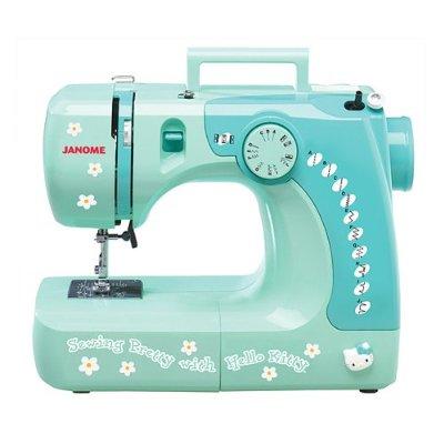 Máquina de costura da Hello Kitty