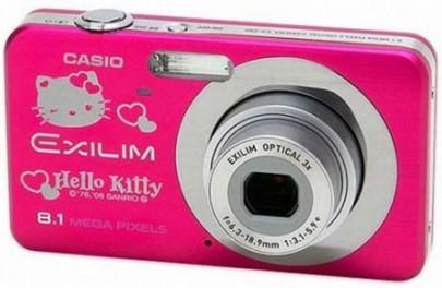 CasioExilim da Hello Kitty