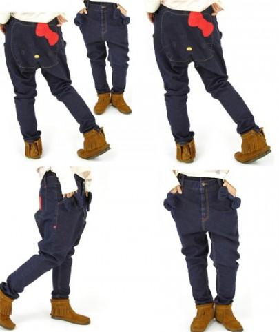 Calça Jeans da Hello Kitty