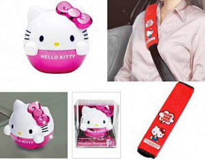 Acessórios da Hello Kitty