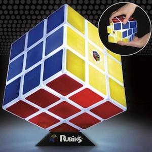 Abajour Cubo de Rubik