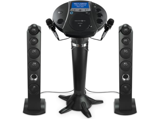 Singing Machine Pedestal Karaoke System