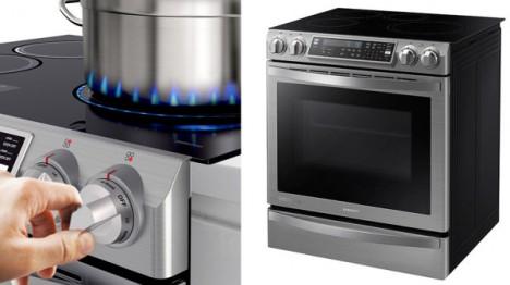 Novo fog o da samsung imita chamas de led for Cocinas para cocinar