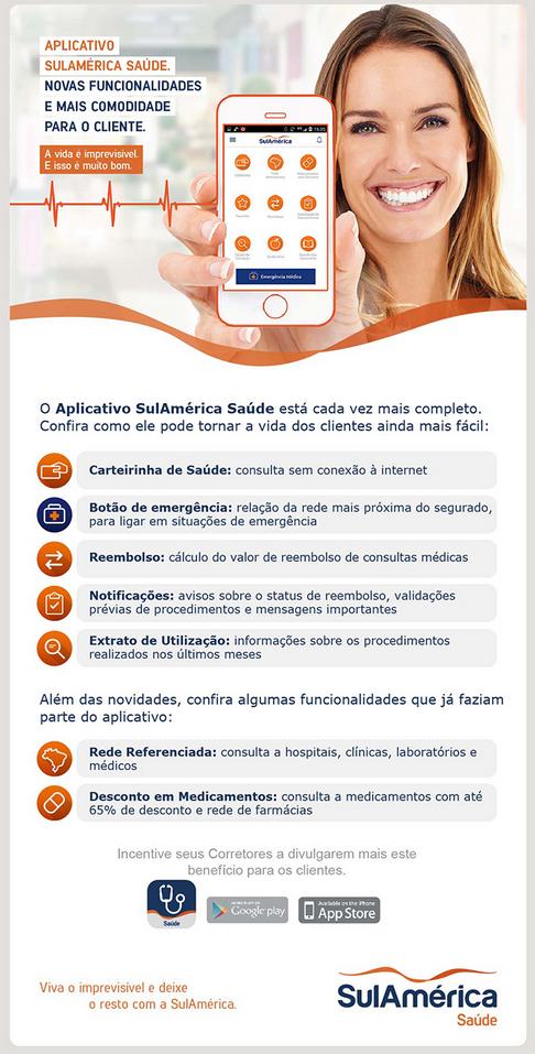Aplicativo SulAmérica Saúde