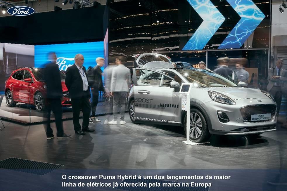 veículos elétricos Ford