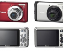 Câmeras digitais PowerShot A3100 IS e A3000 IS da Canon